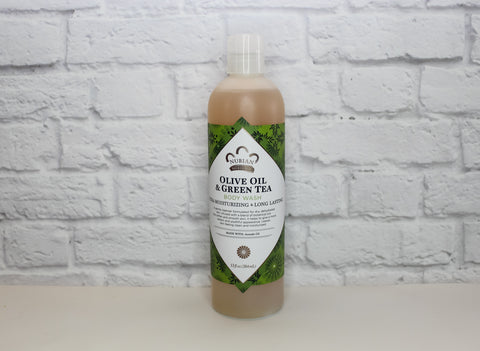 Olive Oil & Green Tea Body Wash, 13fl oz