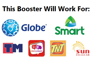 All-In-One 2G 3G 4G LTE Signal Booster for the Philippines