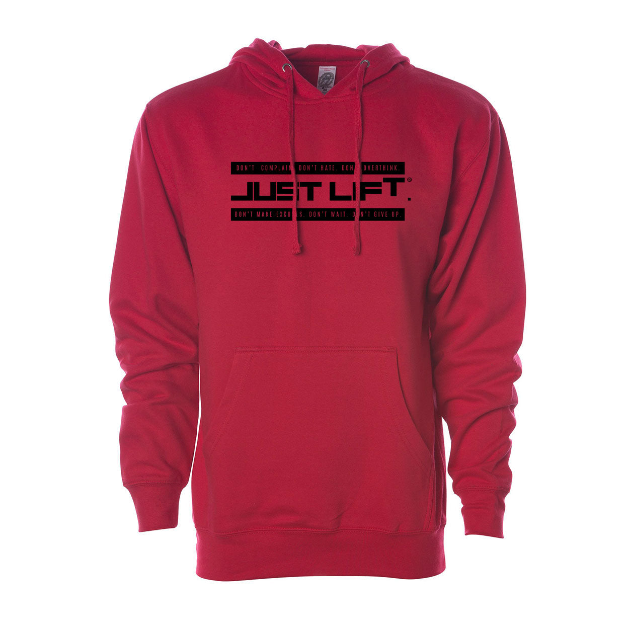 Just Lift Bar Logo Hoodie