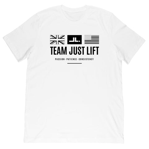 Just Lift Bar Logo Tee