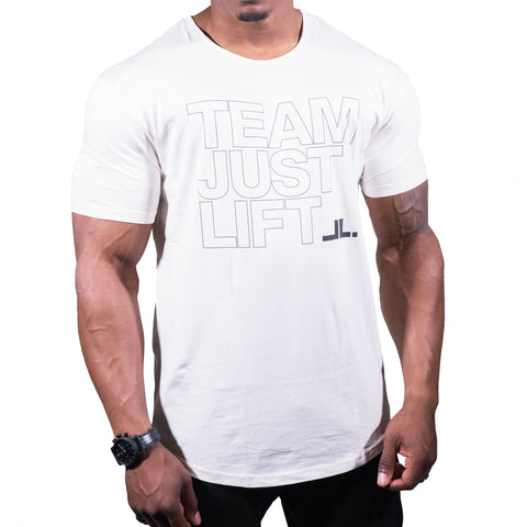 Just Lift Script Tee