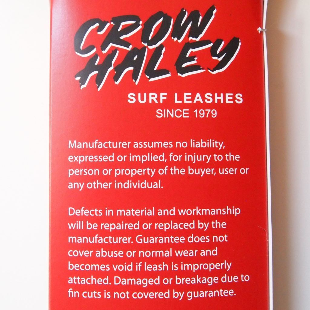 Crow Haley Surf Leash Regular - - Leash