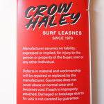 "CROW HALEY CROW HALEY Surf leash ""Matte Black"" REGULAR-KIMMY'Z inc."