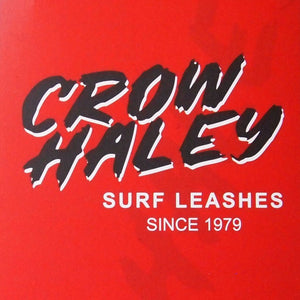 "CROW HALEY Surf leash ""Matte Black"" REGULAR - xn-nck0a0hye"