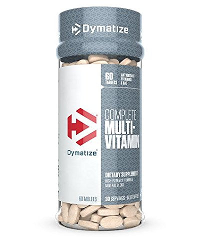 DYMATIZE COMPLETE MULTIVITAMIN, 60 TABLETS.