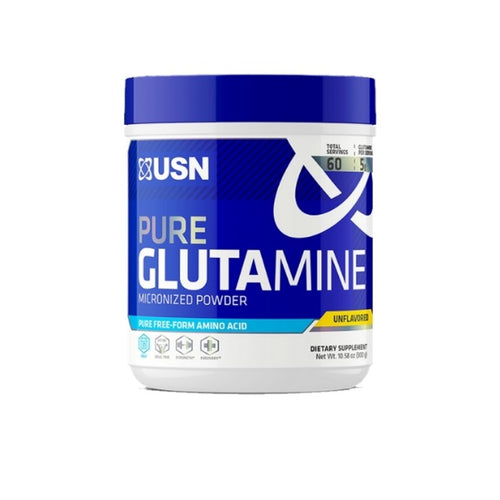 USN HARDCORE PURE GLUTAMINE, 60 SERVINGS.
