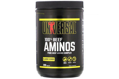 UNIVERSAL NUTRITION 100 % AMINOS, 200 TABLETS