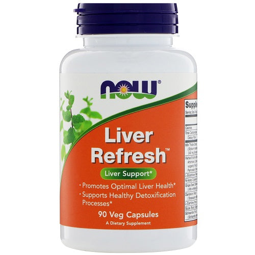 NOW LIVER REFRESH 90 VEG CAPSULES