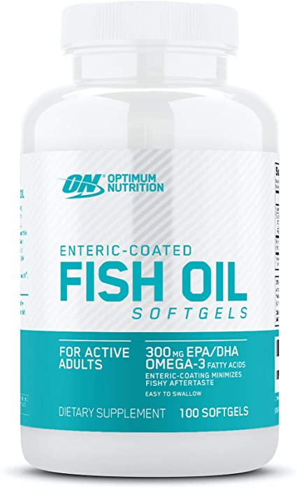 ON (OPTIMUM NUTRITION) FISH OIL, 100 SOFTGELS