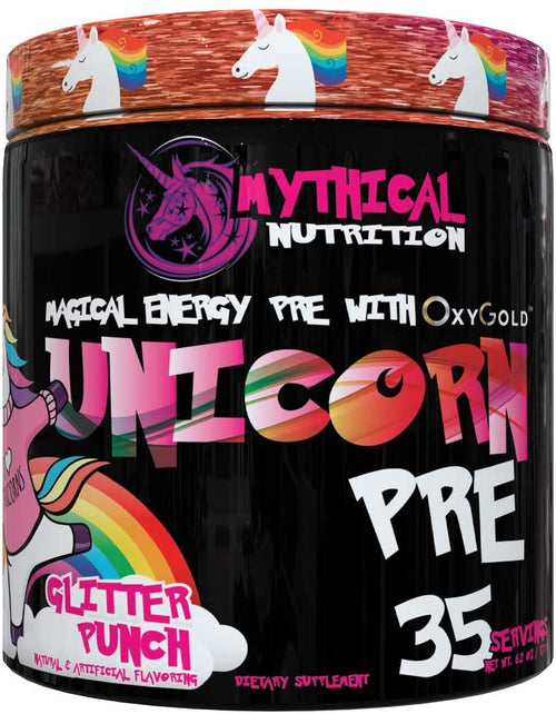 MYTHICAL NUTRITION UNICORN PRE , 35 SERVINGS.
