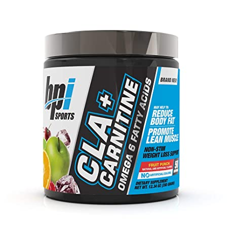 BPI CLA PLUS CARNITINE, 50 SERVINGS