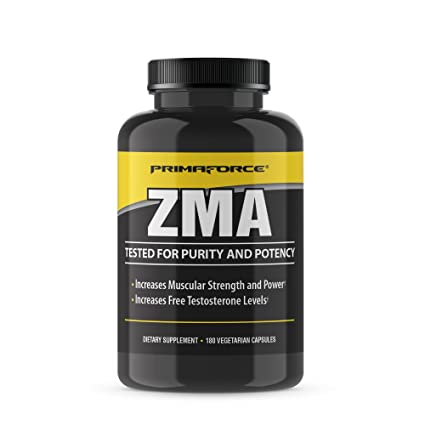 PRIMAFORCE ZMA , 180 VEGETARIAN CAPSULES.