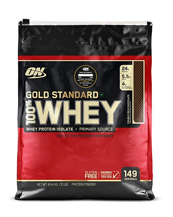 ON (OPTIMUM NUTRITION) GOLD STANDARD 100% WHEY PROTEIN, 10 LBS.