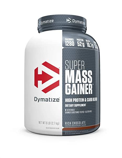 DYMATIZE SUPER MASS GAINER, 6 LBS.