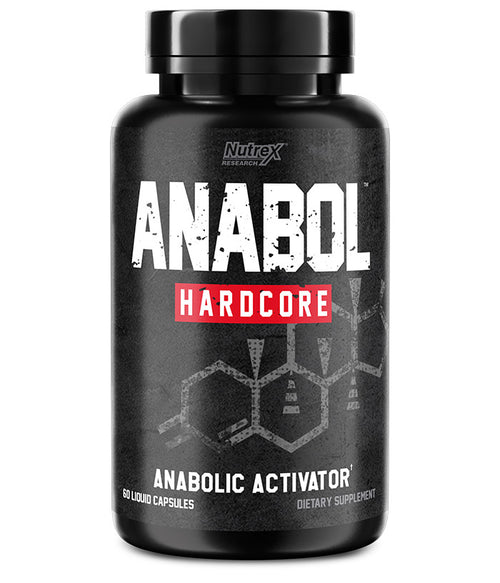 NUTREX RESEARCH ANABOL HARDCORE, 60 LIQUID CAPSULES.
