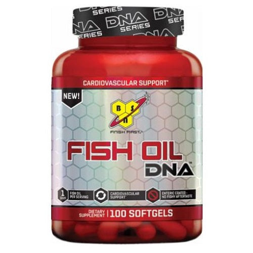 BSN, FISH OIL, DNA ,100 SOFTGELS
