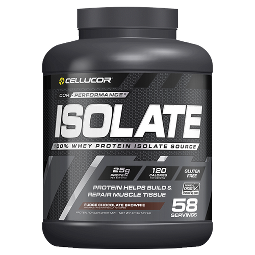 Cellucor Isolate Protein, 4.1 lbs (58 servings).