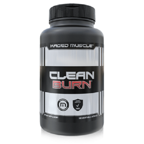 KAGED MUSCLE,CLEAN BURN,180 VEG CAPSULES