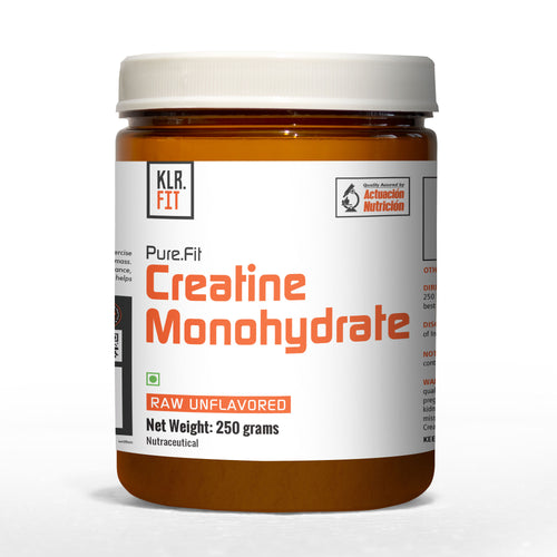 KLR. FIT CREATINE MONOHYDRATE, 250 GMS.