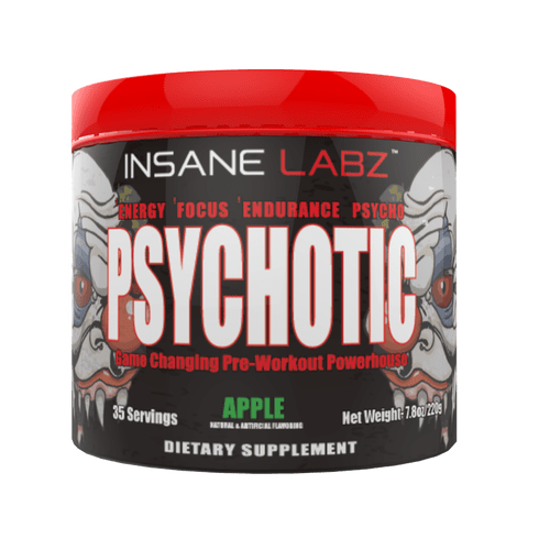 INSANE LABZ PSYCHOTIC PREWORKOUT, 35 SERVINGS