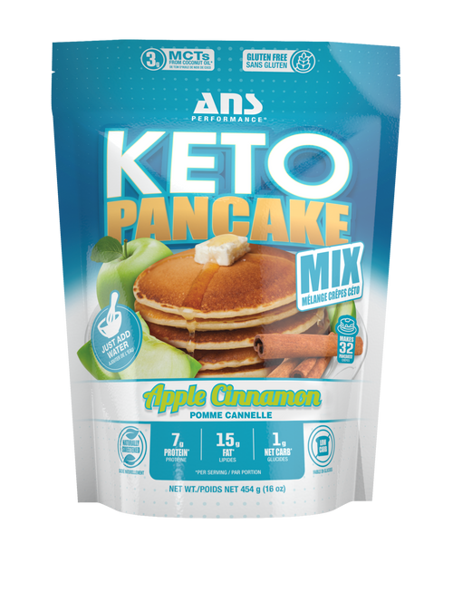 ANS PERFORMANCE KETO PANCAKE MIX 1LBs