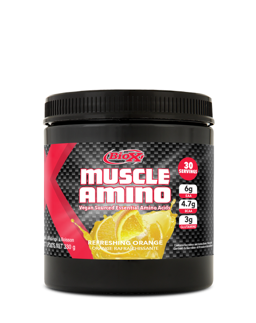 BIOX MUSCLE AMINO EAA VEGAN SOURCED, 30 SERVINGS.