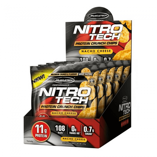 NITROTECH PROTEIN CRUNCH CHIPS, (5*25GMS)