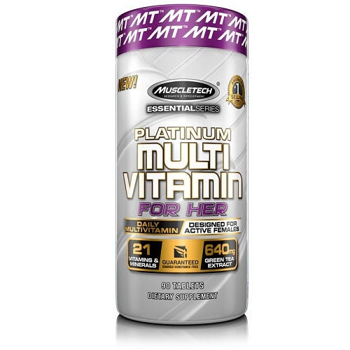 MUSCLETECH PLATINUM MULTIVITAMIN FOR HER 90 TABLETS
