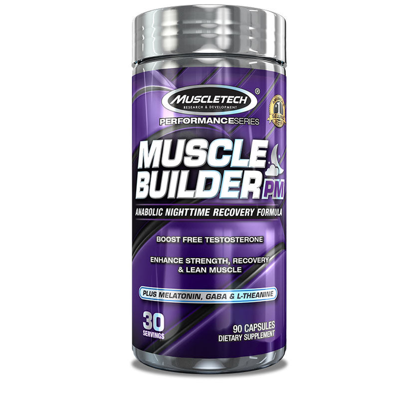 MUSCLETECH MUSCLE BUILDER PM , 90 CAPSULES