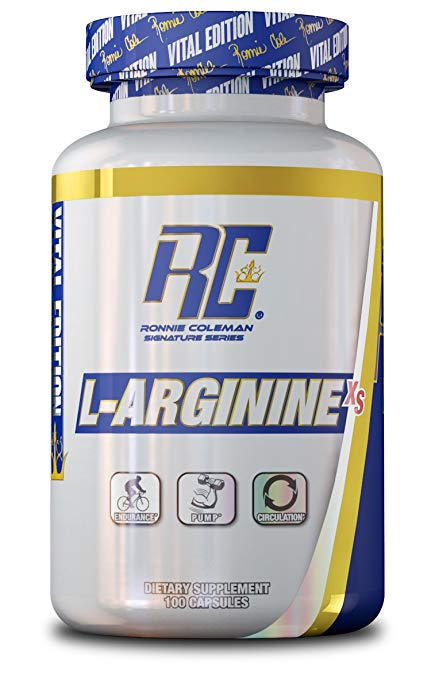 RONNIE COLEMAN L-ARGININE XS, 100 SERVINGS (800MG).