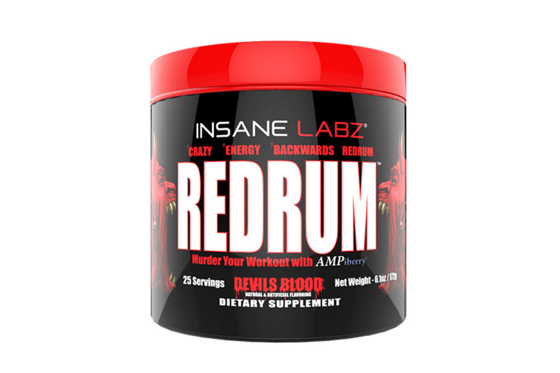 INSANE LABZ REDRUM PREWORKOUT, 25 SERVINGS