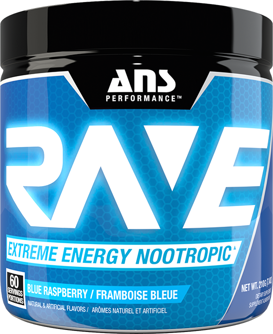 ANS PERFORMANCE RAVE EXTREME ENERGY NOOTROPIC 210GM/ 60 SERVINGS