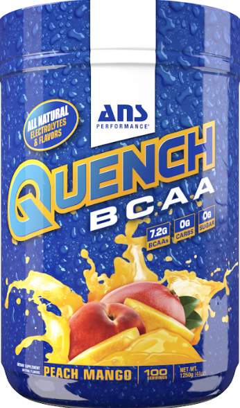 ANS performance QUENCH BCAA (100 SERVINGS)(FREE GALLON BOTTLE)