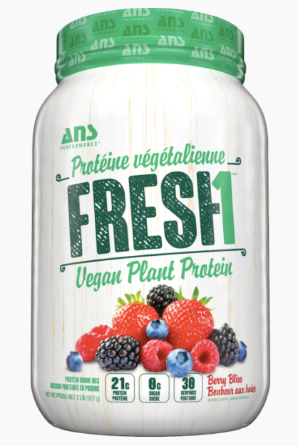 ANS PERFORMANCE FRESH1 VEGAN PROTEIN 2LB.