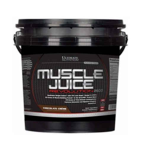 ULTIMATE NUTRITION MUSCLE JUICE REVOLUTION 2600, 11.1 LBS.