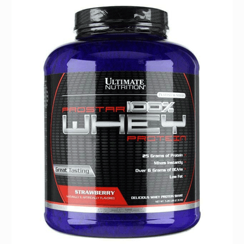 ULTIMATE NUTRITION PROSTAR 100% WHEY PROTEIN, 5.28 LBS.