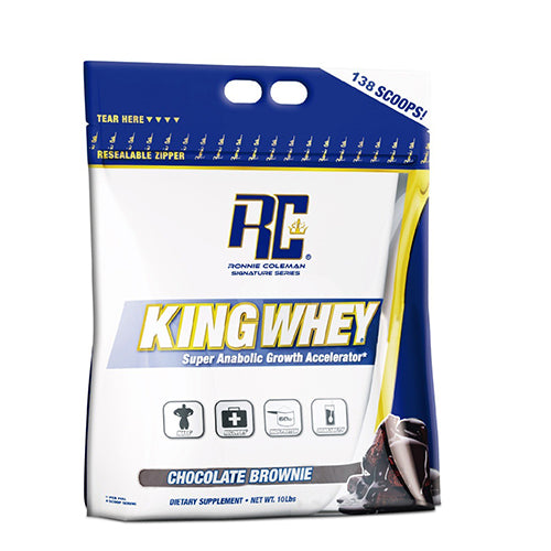RONNIE COLEMAN KING WHEY ,138 SCOOPS(10 LBS)