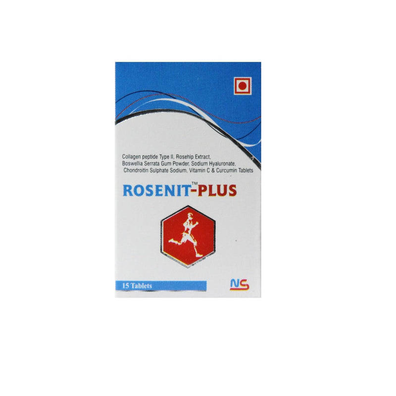 Nitro Rosenit-Plus 30 tablets.(COLLAGEN,VIT C AND TURMERIC)
