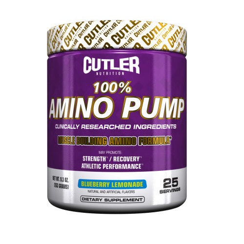 CUTLER NUTRITION AMINO PUMP 25 SERVING