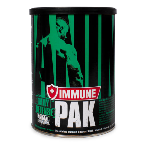 UNIVERSAL NUTRITION ANIMAL IMMUNE PAK, 30 PACKS.