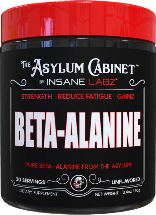 INSANE LABZ ASYLUM CABINET BETA ALANINE  , 30 SERVINGS.
