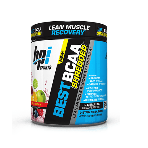 BPI SPORT, BEST BCAA SHREDDED, 25 SERVINGS