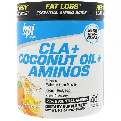 BPI CLA+COCONUT OIL+AMINOS, 40 SERVINGS