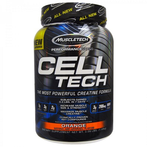 MUSCLETECH CELL TECH PERFORMANCE SERIES 3.09 LBS (1.40 KG)