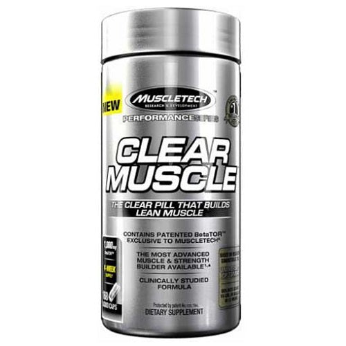 MUSCLETECH CLEAR MUSCLE, 168 LIQUID CAPS