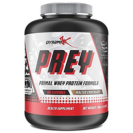 DYNAMIK MUSCLE PREY WHEY PROTEIN, 4.4 LBS.