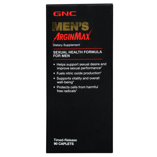 GNC Men's ArginMax 3000 mg - Timed Release 90 Caplets.