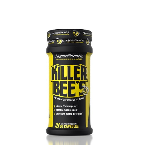 HYPERGENETIC KILLER BEE'S FAT BURNER – 60 CAP