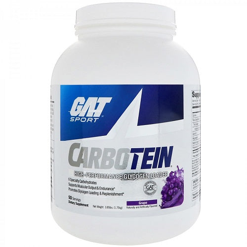 GAT SPORT CARBOTEIN, 50 SERVINGS(3.85LBS)