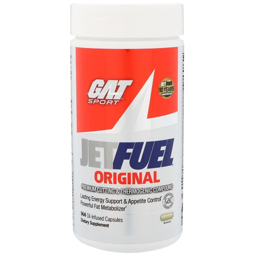 GAT JETFUEL ORIGINAL , 144 OIL-INFUSED CAPSULE
